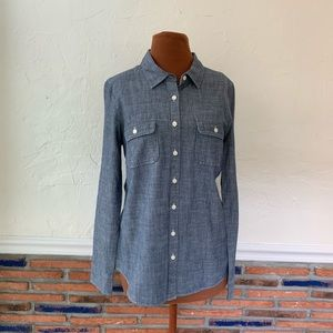J Crew chambray perfect shirt